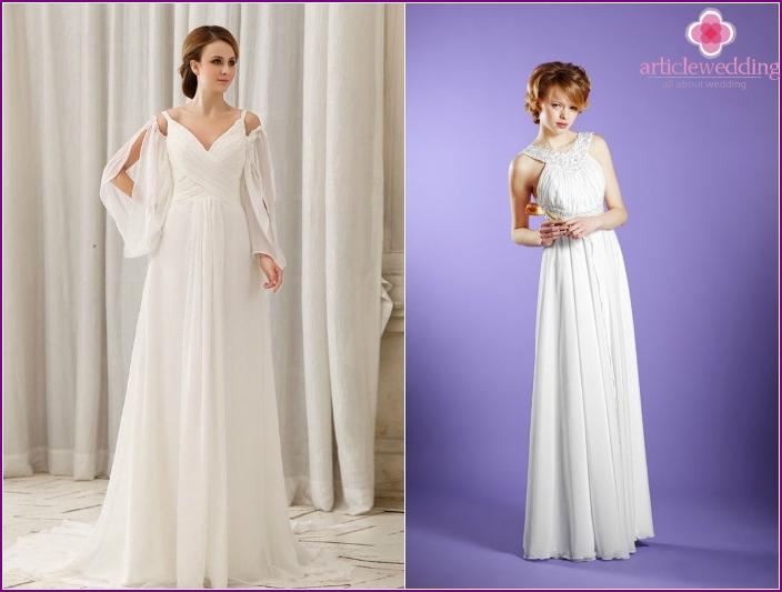 Greek-style wedding models