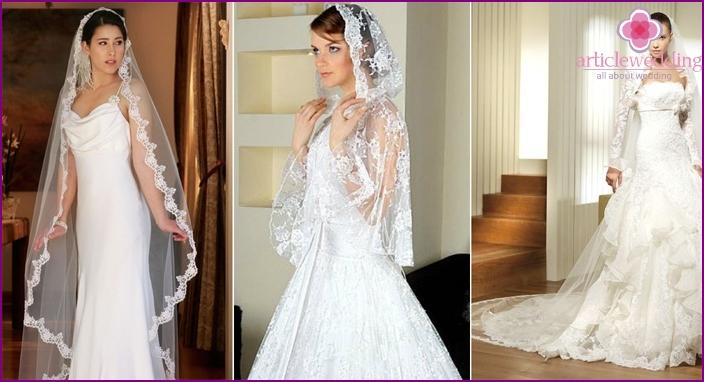 Bride hair accessories