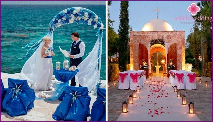 Picturesque historic wedding sites