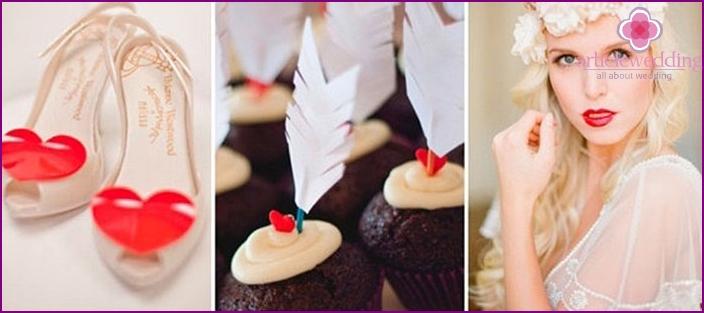 Valentinstag Hochzeit