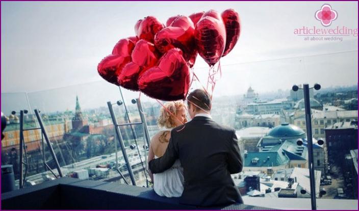Ballon Hochzeitsdekoration