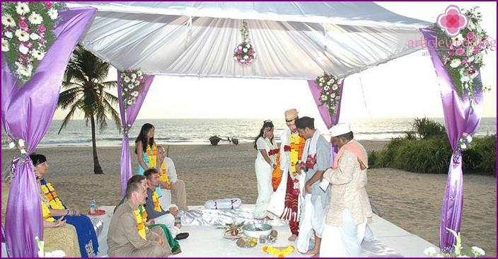 Indian Honeymoon Ceremony