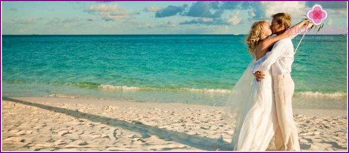 Maldivian Beach Wedding