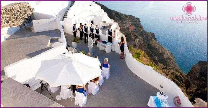 Santorini Wedding Rite