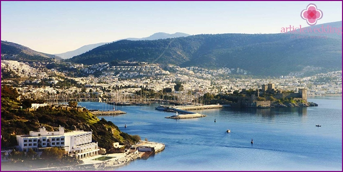 Bodrum for a wedding ceremony