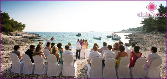 Hvar island for marriage registration