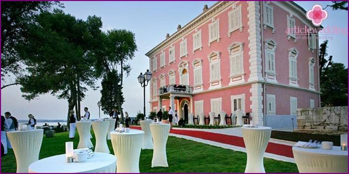 Istria Peninsula for a wedding
