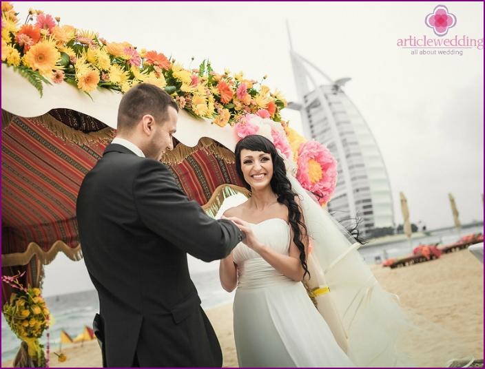 Symbolic ceremony in Dubai