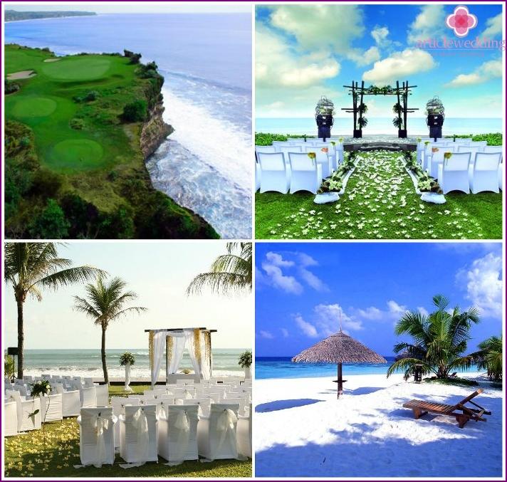 Häät Seminyakissa Balilla