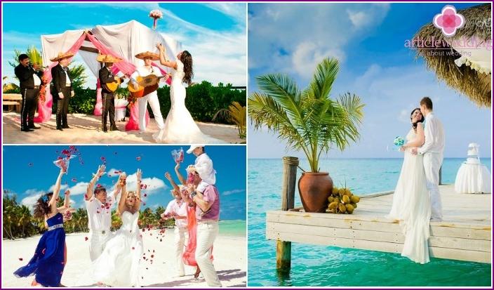 Wedding at the Maldives Hotel