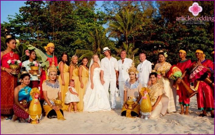 Phuket Wedding Scenario