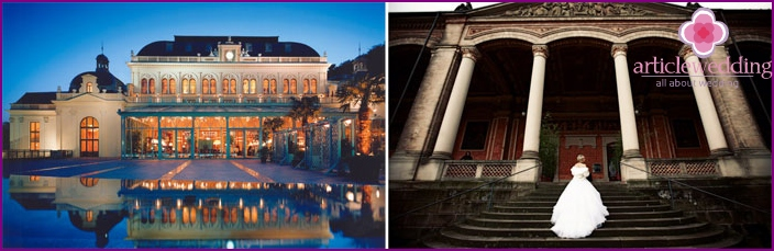 Baden-Baden - an ancient city for a wedding