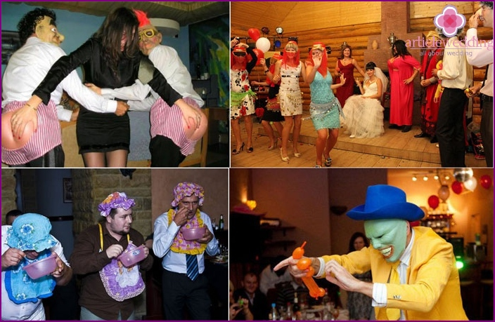 Host toastmaster Wedding Competitions