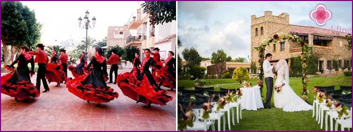 Photos of weddings in Spain
