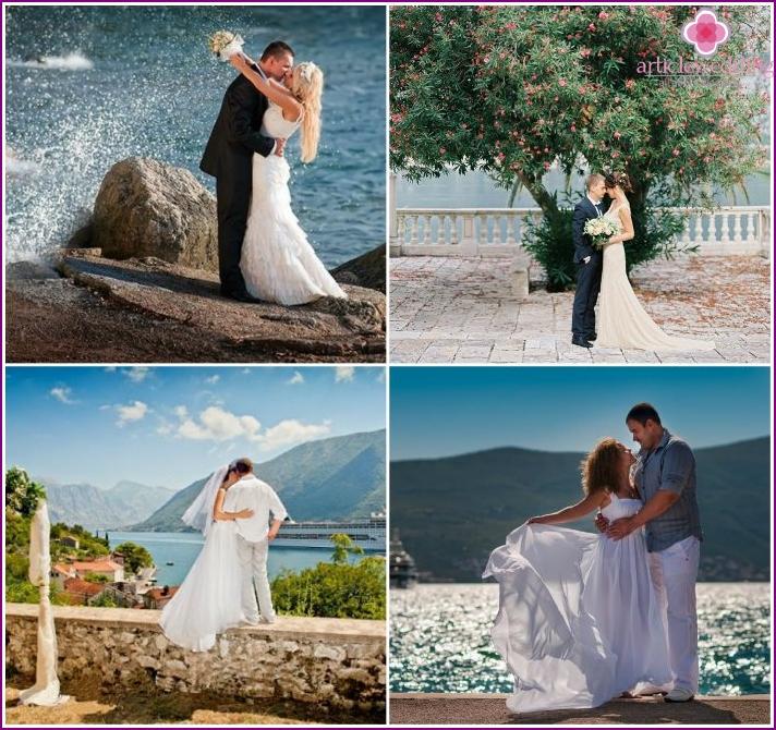 Perast, Montenegro - für eine Hochzeitsfeier