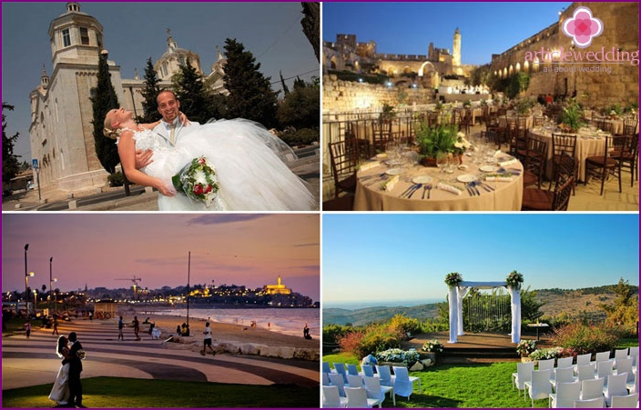 Jerusalem as a place for a wedding