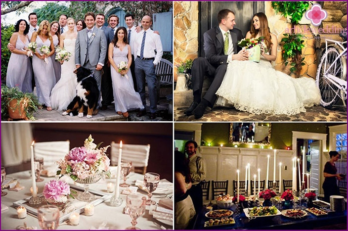 Little wedding at home
