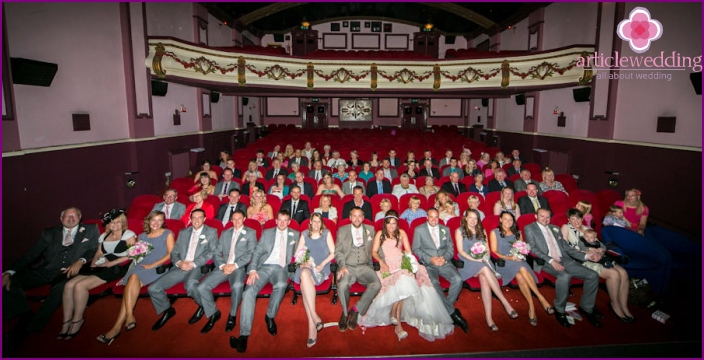 Budget Wedding: Cinema