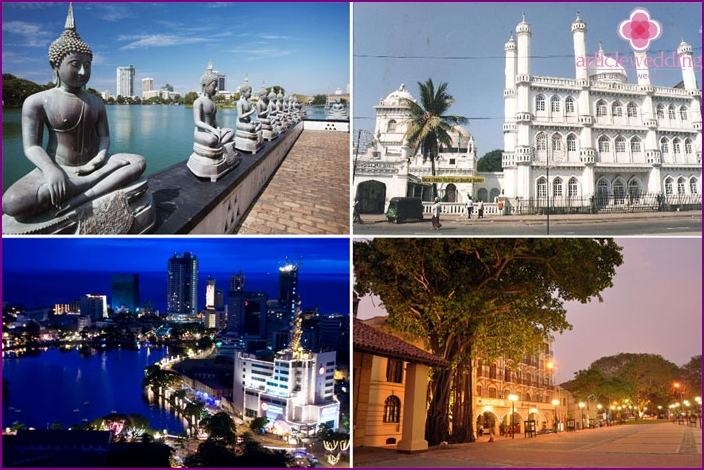 Sights of Colombo in Sri Lanka for honeymooners