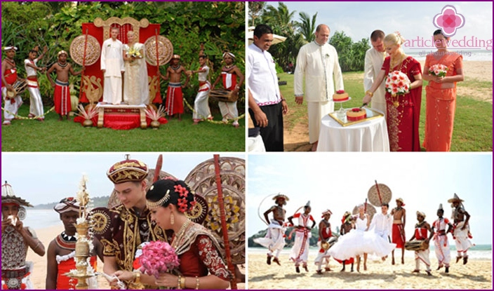 Exotic Sri Lankan weddings