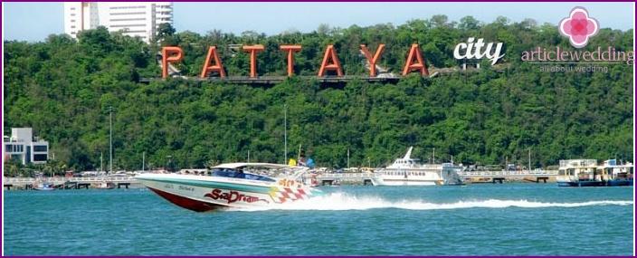 Thailändische Insel Pattaya