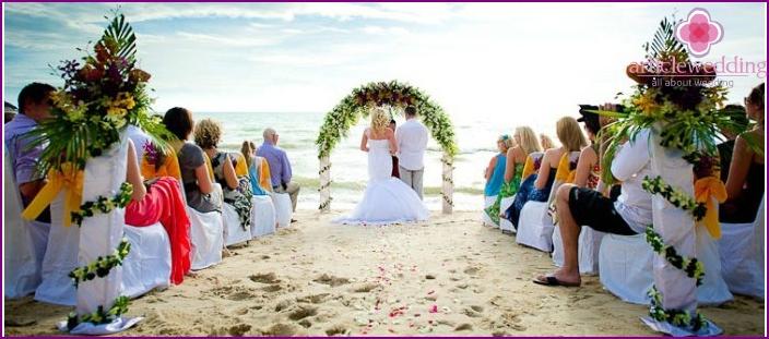 Thailand: Hochzeitszeremonie