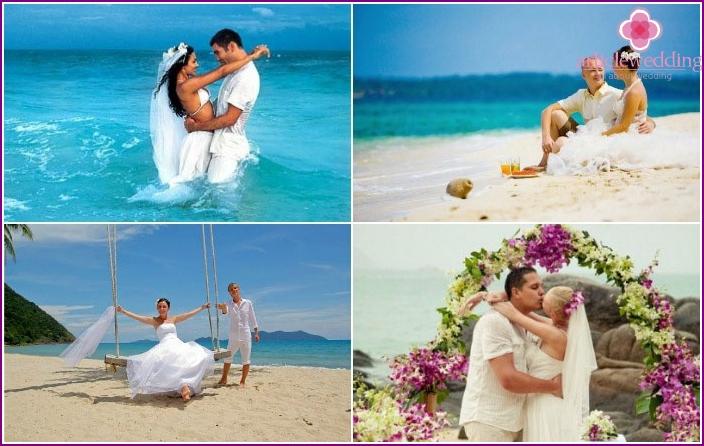 Eine Auswahl an wunderschönen thailändischen Hochzeiten