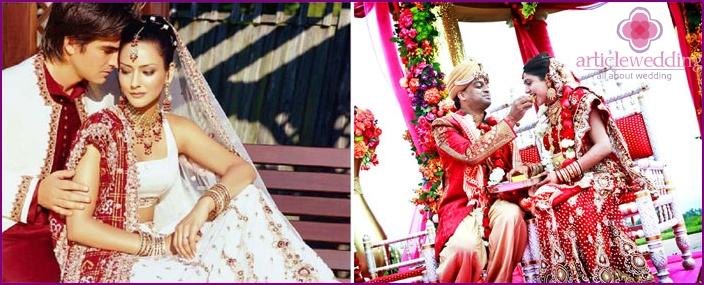 Vorteile der Hochzeitszeremonie und Indien
