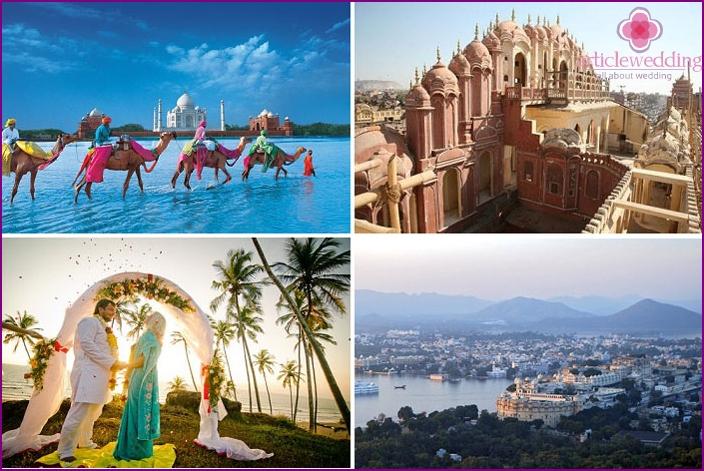 Wo kann man eine Hochzeit in Indien organisieren?