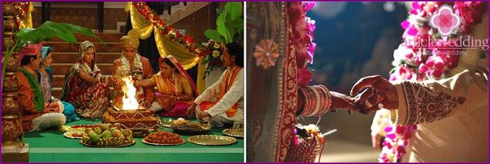 Die Kosten für eine Hochzeit in Indien
