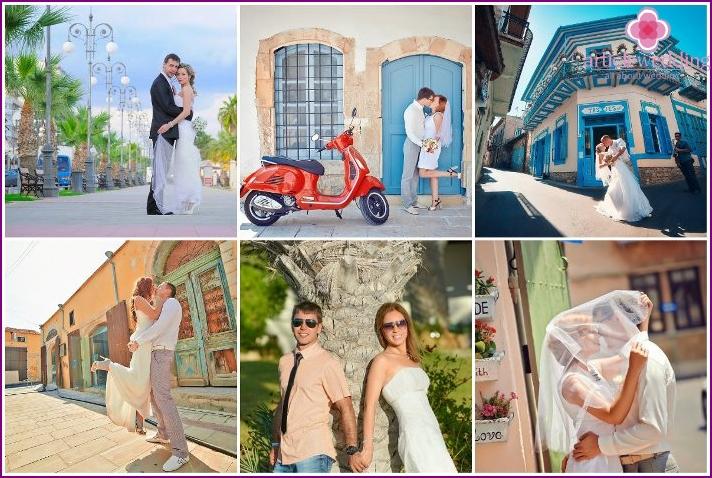 Marriage among the beauties of Larnaca