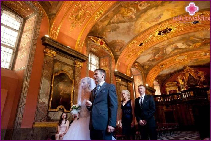 Hochzeit im Clementinum Palace