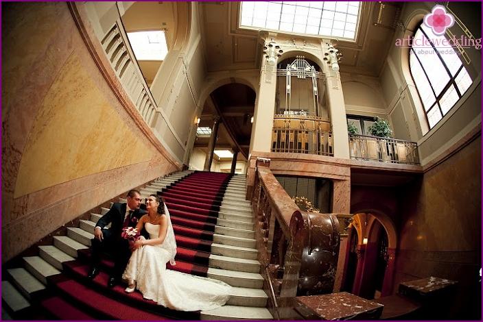Prager Stadtpalast zur Hochzeit