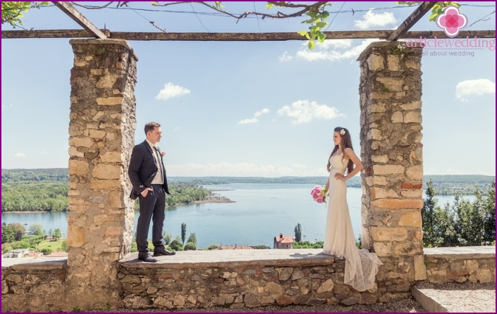 Lake Maggiore for a wedding event