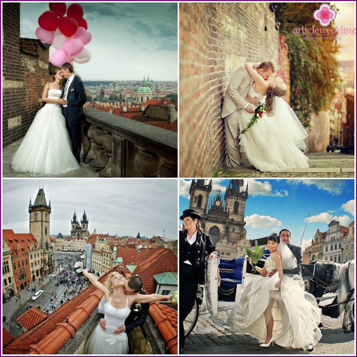 Wedding photos from the Czech Republic