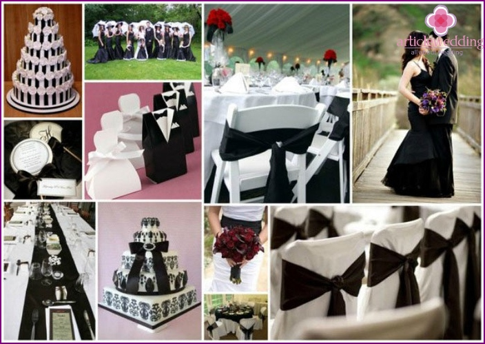 Ideas for decorating a dark wedding hall