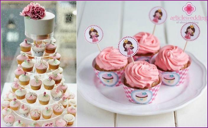 Rosa Cupcake