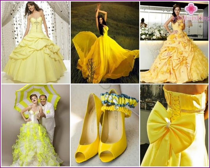 Braut Outfit für eine sonnige Hochzeit