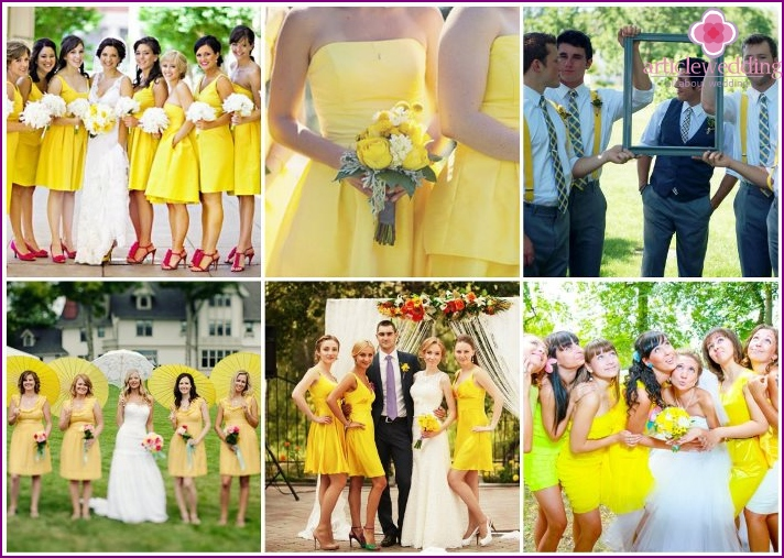 Solar dress code for guests of the wedding ceremony