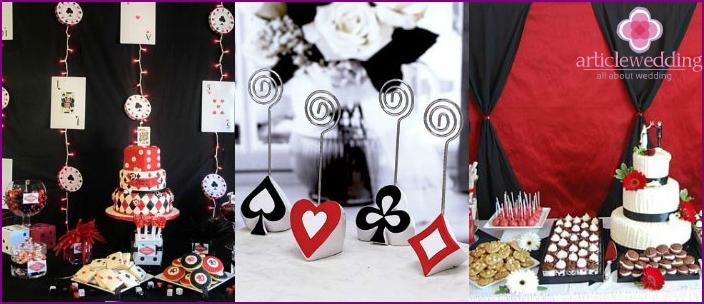 Pianoforte Wedding Decorations