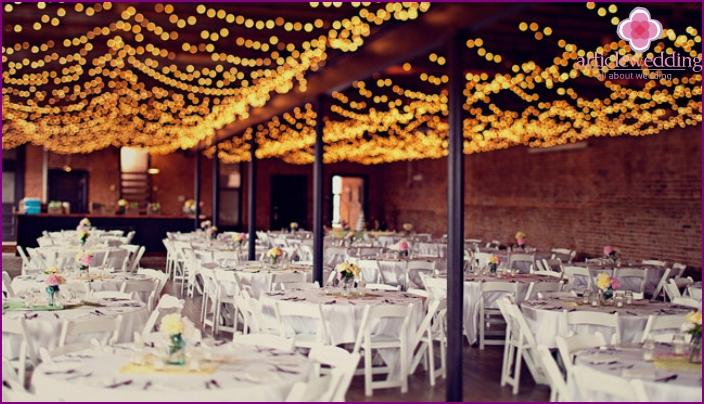 Restaurant im Loft-Stil