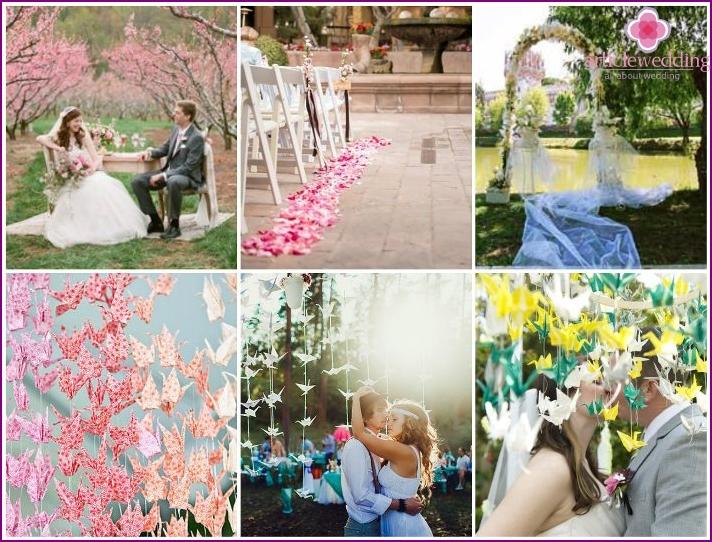 Sakura Style Outing Hochzeit