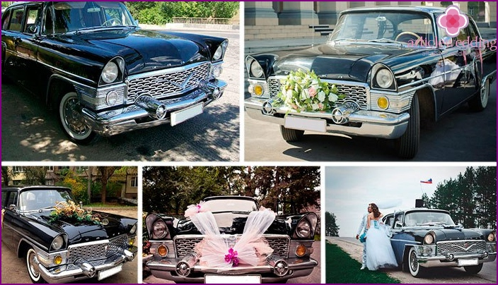 Decor Elements for Wedding Cars