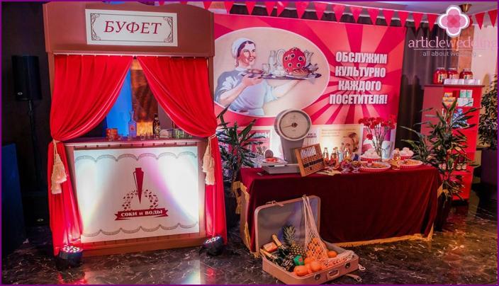 Ideoita salin sisustamiseen Neuvostoliiton tyyliin