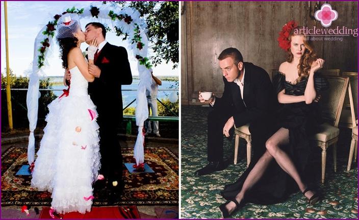 Brautkleider für das Moulin Rouge