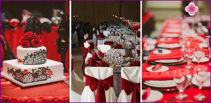 Themed wedding table