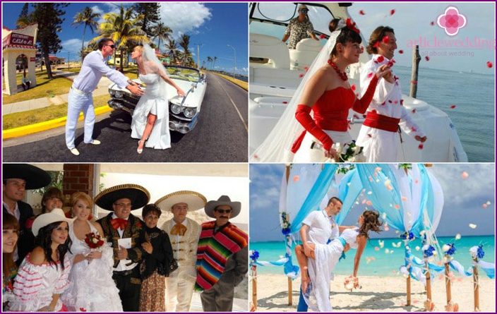 Photo wedding in Mexico
