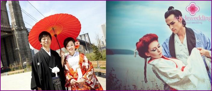 Traditional japanese wedding dresses