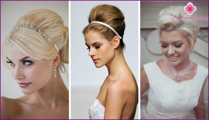 60s Style Wedding Hairstyles