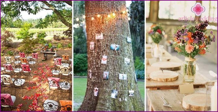 Hippie Wedding Venue Decor